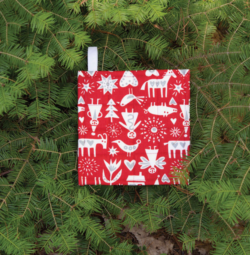 Klippan Merry Christmas Pot Holder