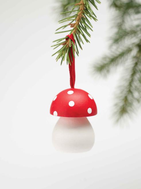 Mushroom Ornament