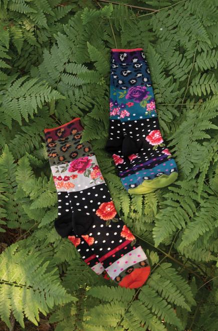 Ozone Pinky Socks
