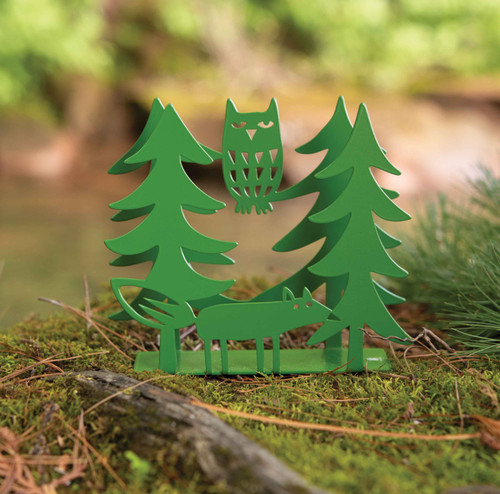 Fox & Owl Napkin Holder