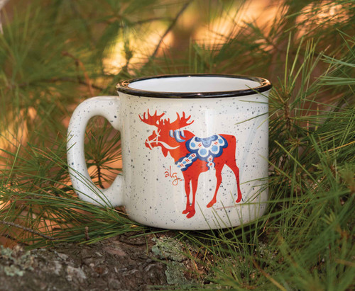 Dala Moose Camp Mug