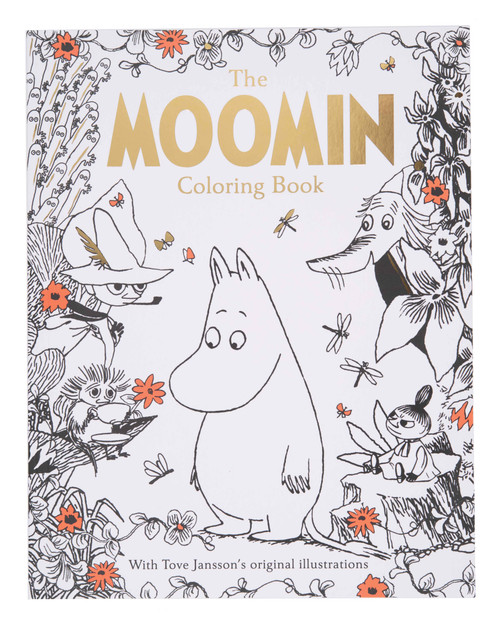 Moomin Coloring Book
