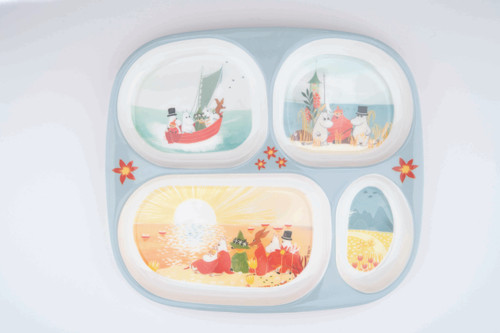 Moomin Compartment Plate - Save Our Sea