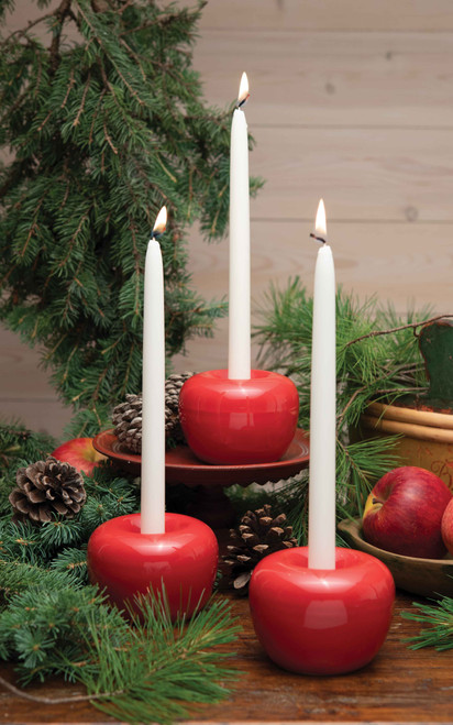 Born in Sweden Apple Candleholder