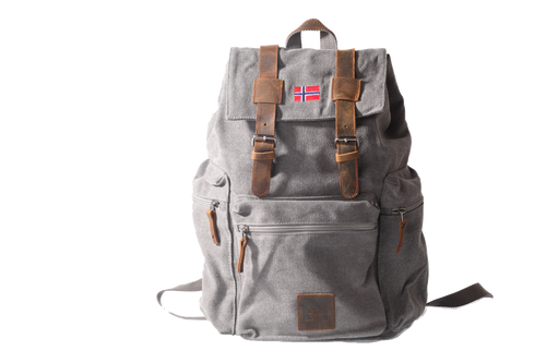 Backpack Senior Retro 22 liter - GRAY