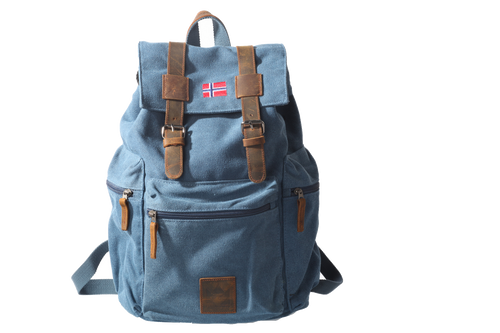 Backpack Senior Retro 22 liter - BLUE