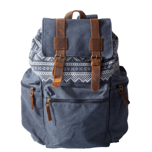 Backpack Senior Retro 22 liter - MARIUS BLUE