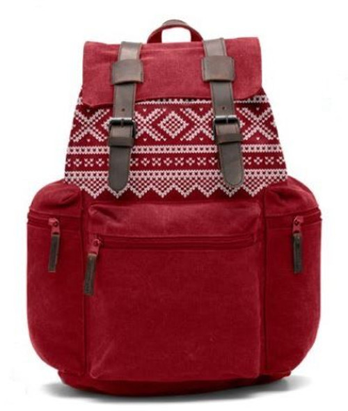 Backpack Senior Retro 22 liter - MARIUS RED