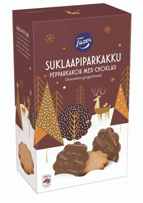 Chocolate Covered Pepparkakor
