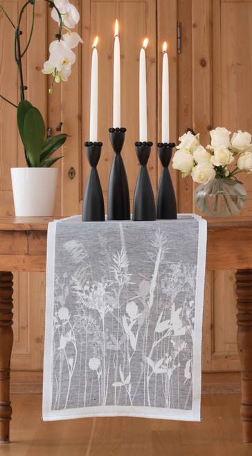 Swedish Birch Candleholder - Black