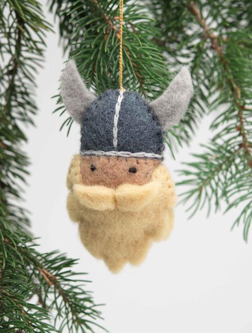 Felt Viking Ornament