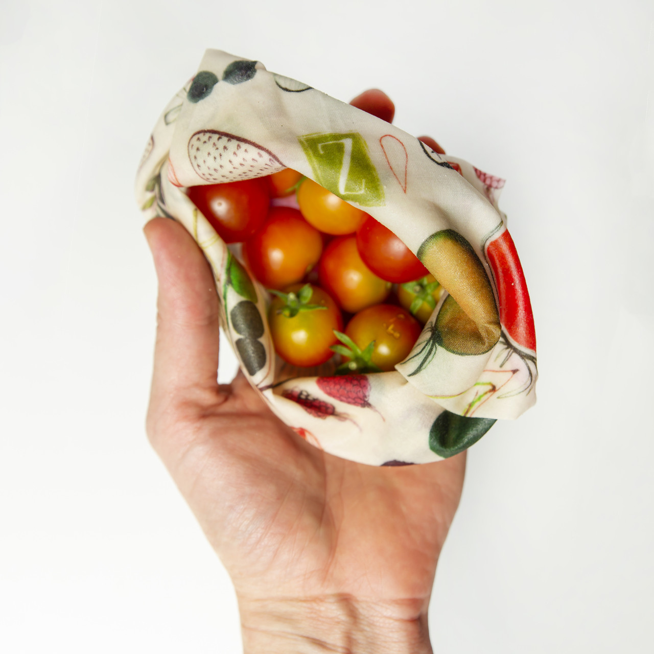 ZWraps Reusable Beeswax Food Wrap - Multi-Pack: Small, Medium, Large - Farmer's Market (ZW MP FM)