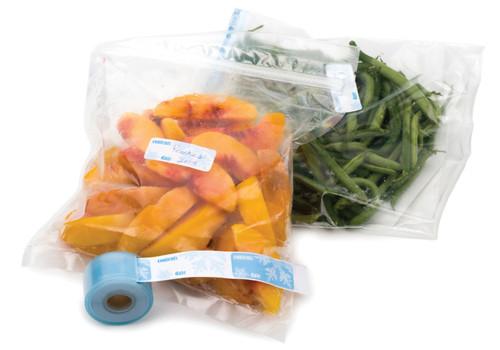 RSVP Label Collection - Freezer Labels with Dispenser (100 Count) (RSVP LABL-FR)
