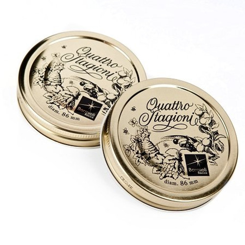 """Quattro Stagioni Replacement Lids - Strip of 2 - #86 (3.38"""") (BR 895160ST3021990)"""
