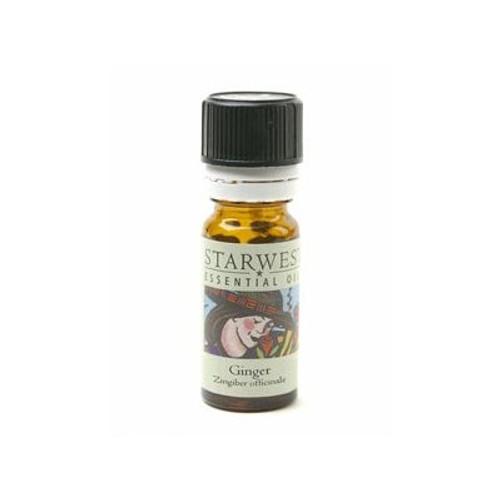 Starwest Botanicals Essential Oil - Ginger - 1/3 oz (10ml) (SW 445081-01)
