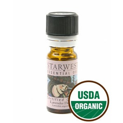 Starwest Botanicals Essential Oil - Lavender Flower - Organic* - 1/3 oz (10ml) (SW 442090-01)