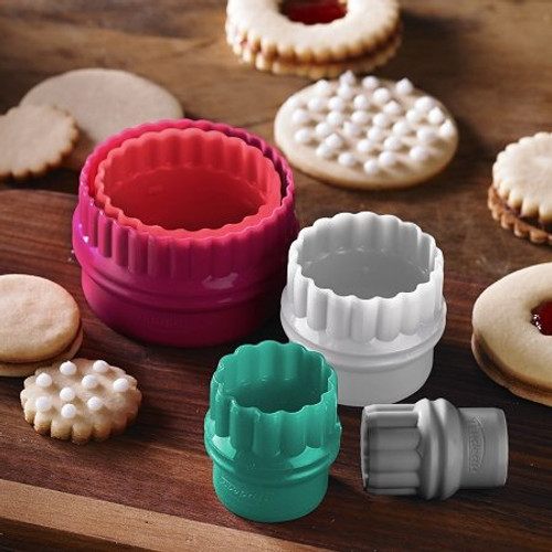 Make beautiful cookies or scones.