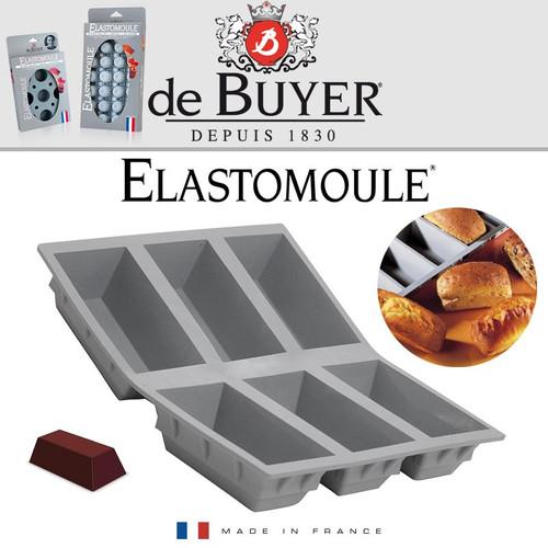 de Buyer Elastomoule Silicone Mold - 6 Portion Loaves (DB 1831.21US)