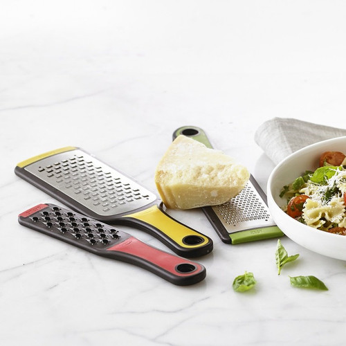 Trudeau Stackable Stainless Steel 3 Piece Grater Set (TR 09912134)