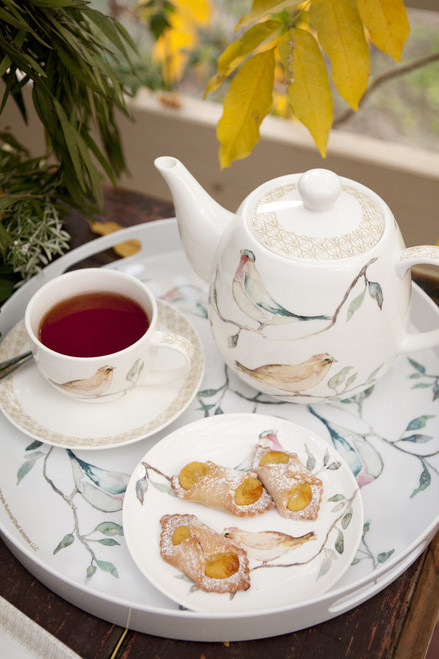 Ashdene Birdsong Collection to serve tea or breakfast