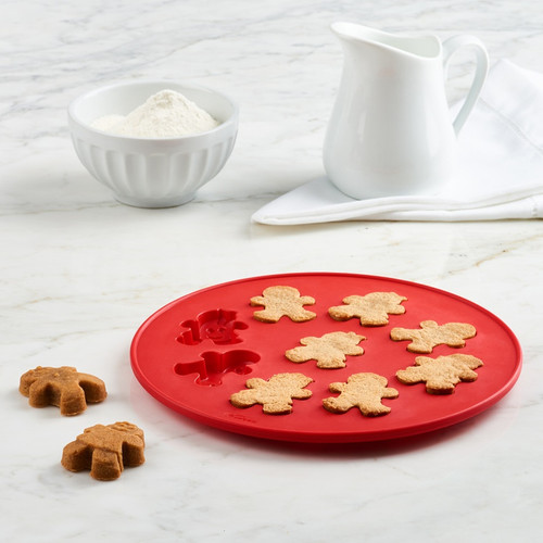 Trudeau Structure Silicone Gingerbread People Cookie Molds (TR 05117522)