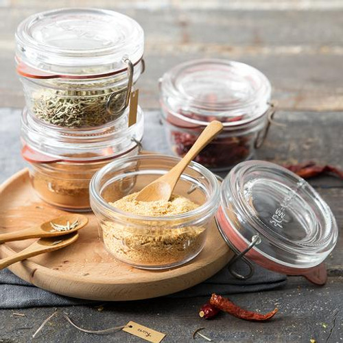 Store all of our herbs and spices in the Lock-Eat Food Jar - 80 ml (2.75 oz)