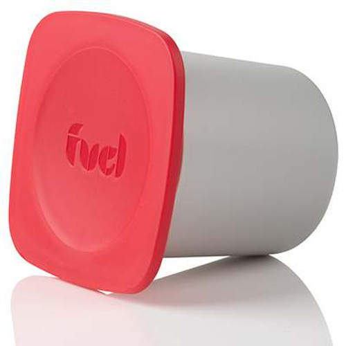 Trudeau Fuel Snack Pod Container- 4.5 oz. - Candy Red (TR 34508336)