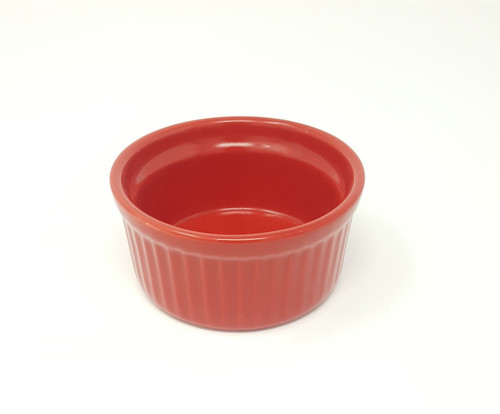 B.I.A Ramekin - Apple Red- 4.5 oz. (BIA 400012 - Red)
