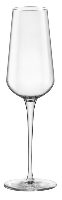 Bormioli Rocco inAlto Uno Collection - Champagne Flutes (9.50 oz) - Set of 6 (BR 365740GBD021990)