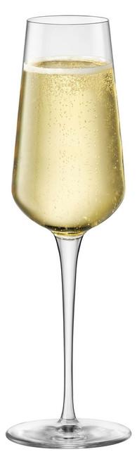 Bormioli Rocco inAlto Uno Collection - Champagne Flutes (9.50 oz) - Set of 6 (BR 365740GBD021990)