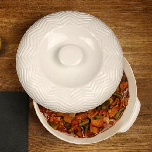 B.I.A. Quick Recipe Casserole Set - White - 2.5 Qt. (BIA 994840QR)