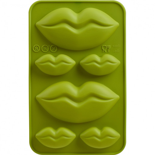 Set of 2 Chocolate Molds - Lips (TR 09916011)