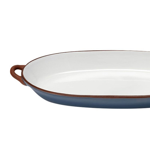 Ladelle Tapas Collection - Oblong Handled Platter - Blue (LD 61326)