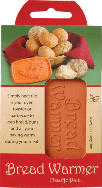 JBK Pottery Ceramic Bread Warmer (HIC 10152)