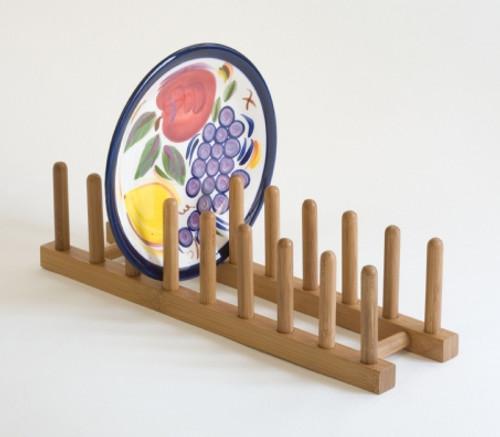 Lipper Bamboo Plate and Lid Rack (LI 887)