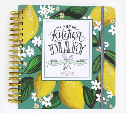 Lily & Val The Keepsake Kitchen Diary - Whimsical Lemons (LV KKD2)