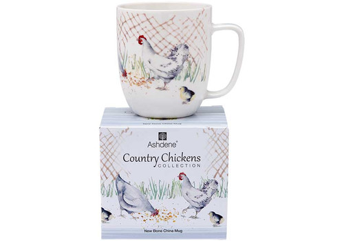 Ashdene Country Chickens Collection - Mug - The Pen (AD 517277)