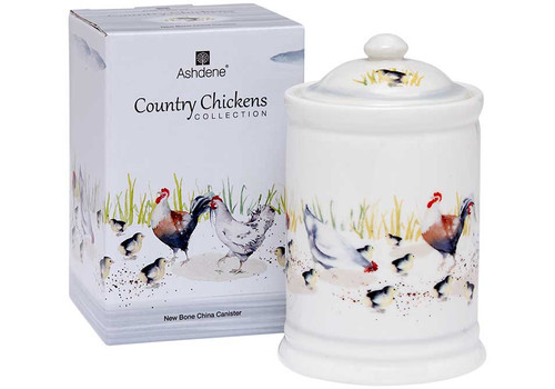 Ashdene Country Chickens Collection - Canister - Family (AD 517288)