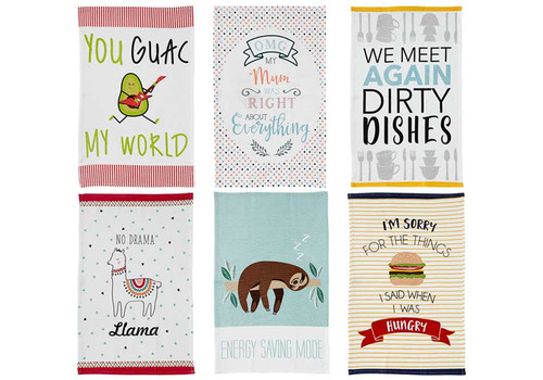 Ladelle Novelty Kitchen Towel Collection