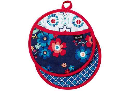 Ladelle Fiesta Collection - Pot Holder - Set of 2 (LD 48096)