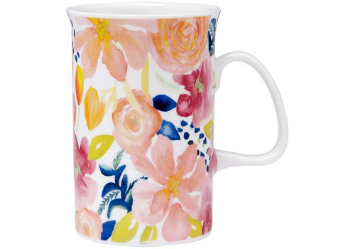 Ashdene Seasons in Bloom Collection - Fine Bone China Mug - Garden Variety (AD 517255 - GV)