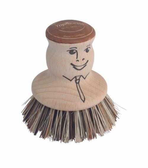Redecker Pot Brush Man (PS RED322601)
