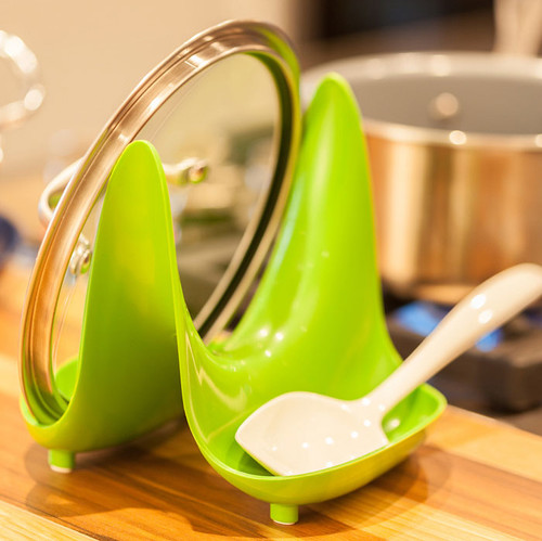 Hutzler Pot Lid Stand and Utensil Rest