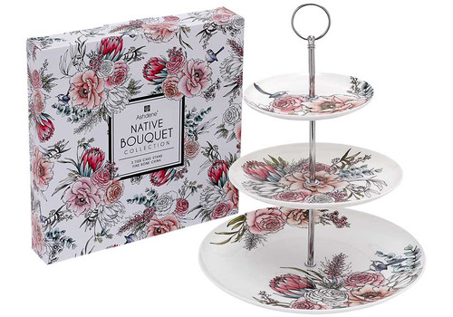 Ashdene Native Bouquet Collection -3 Tier Cake Stand (AD 517243)