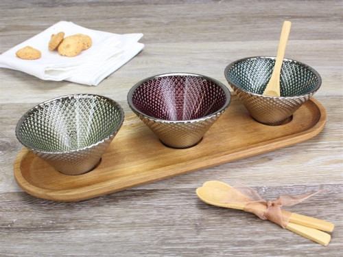 Pampa Bay Let's Entertain Collection - 7 Piece Bowl & Tray Set (PB WB-108)