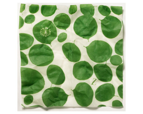 ZWraps Reusable Beeswax Food Wrap - Medium - Leafy Green (ZW MLG)