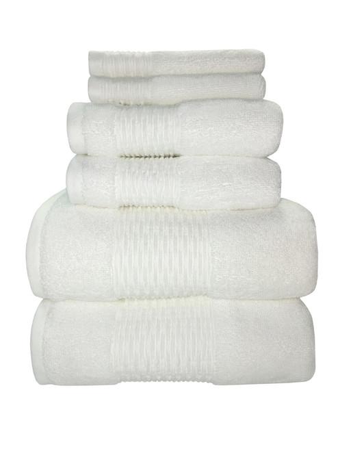 Sttelli Luna Collection - Bath Sheet - White (STT LUT-113-WH)