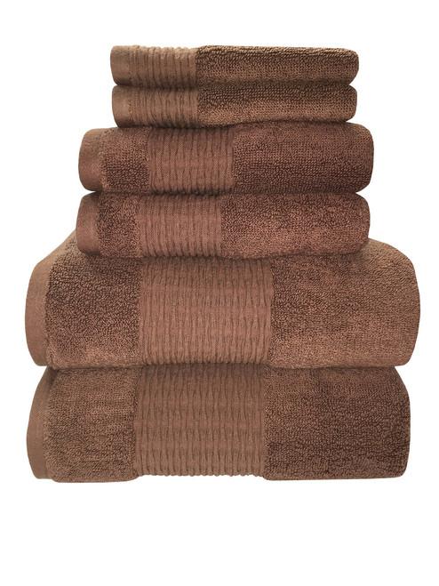 Sttelli Luna Collection - Bath Sheet - Brownie (STT LUT-113-BR)
