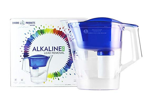 New Wave Alkaline Plus Lead Removal Filter Pitcher System (NW 30045)