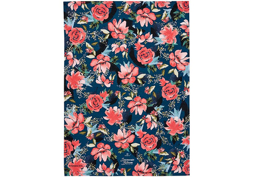 Ashdene Seasons in Bloom Collection - Tea Towel - Moody Magnolia (AD 517256)